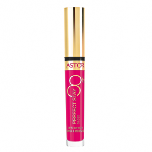 Astor Perfect Stay Gloss 8h 003 Cheeky Pink - błyszczyk do ust 8ml