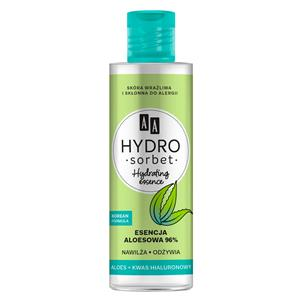 AA Hydro Sorbet Korean Formula Hydrating Essence esencja aloesowa 96% 100ml