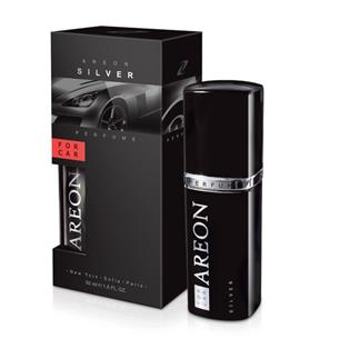 AREON Car Perfume perfumy do samochodu Silver 50ml