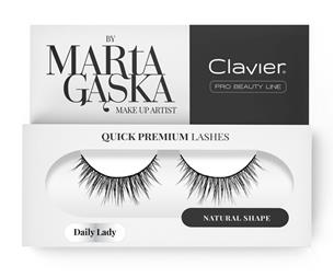 CLAVIER Quick Premium Lashes rzęsy na pasku Daily Lady 813