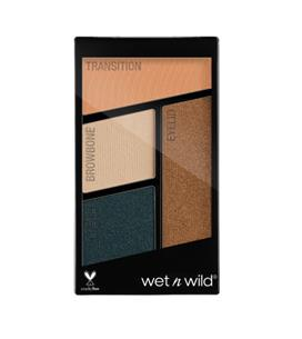 WET N WILD Color Icon Eyeshadow Quad paletka 4 cieni do powiek Hooked On Vinyl 4.5g