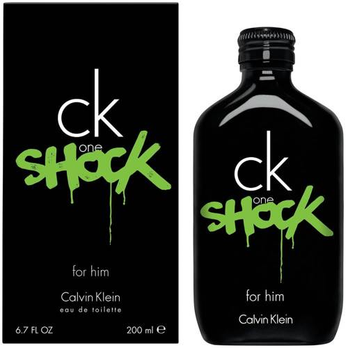 CALVIN KLEIN One Shock For Him perfumy męskie - woda toaletowa 200ml